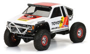 Opened Packing - Pro-Line 1985 Toyota HiLux SR5 Clear Body (Cab only) - No Window Masks