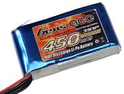 Gens Ace 450mAh 3s (11,1V) 25C  Lipo Battery Pack