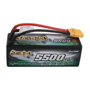Gens ace 5500mAh 14.8V 4S1P 50C Lipo Battery - XT90 - Bashing Series