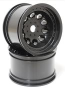 RPM 3.2inch Black Revolver Monster Truck Wheels - StableMaxx Offset - 17mm (2)