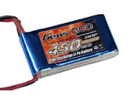 Gens Ace 450mAh 2s (7,4V) 25C Lipo Battery Pack
