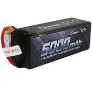 Gens Ace 5000mAh 4s (14,8V) 50C  Hard Case Lipo Battery Pack