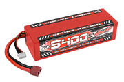 Team Corally Sport Racing 50C LiPo Battery 5400mAh 11.1V Stick 3S Hard Wire T-Plug