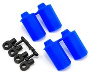 RPM Shock Shaft Guards for Traxxas 1/10th Scale Shocks - Blue - Also Durango