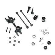 Tekno RC M6 Driveshafts and Steering Blocks for Slash/Stmpd 4×4 (front, 6mm)