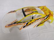 T-Shades Painted Touring Car Body - M410 Light PreCut T4