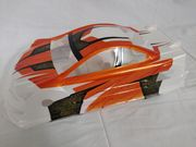 T-Shades Painted Touring Car Body - Mon-tech Racer