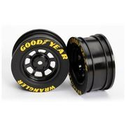 Traxxas Wheels, 8-spoke (black) (2)