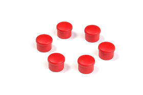 Hudy Cap for 18mm Handle - Red (6)