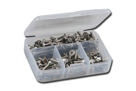 RcScrewz Xray X1 Formula 1:10th Stainless Screw Kit