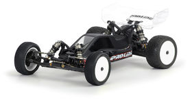 Pro-Line BullDog Clear Unpaited Body With Wing - Rear Motor - Losi 22