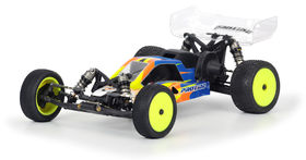 Pro-Line BullDog Clear Unpaited Body With Wing - Mid Motor - Losi 22