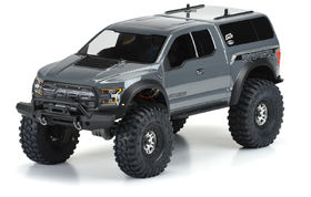 Pro-Line 2017 Ford F-150 Raptor Clear Body For TRX-4