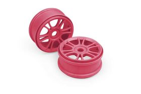 Xray Wheels Starburst - Pink (4)