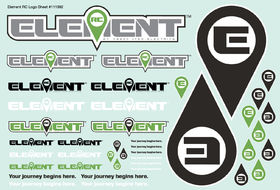 Element RC Element Decal Sheet - (1)