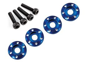 Latrax Wheel Screw & Washer Aluminium