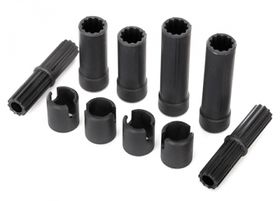 Traxxas Half Shafts Center Plastic Parts Only Set
