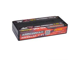 Arrowmax LiPo 4800mAh Low Profile Petite - 7.4V 60C/120C 5mm (Si-Graphene)