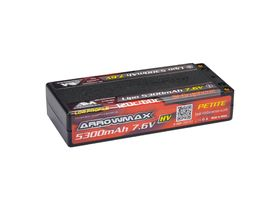 Arrowmax AM LiPo 5300mAh Low Profile Petite - 7.6V 60C/120C 5mm (Si-Graphene)
