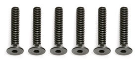 "Associated 4-40 × 5/8"" Flat Head Socket Screw (6)"