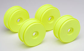 Team Associated RC8 Wheels - Yellow (4)