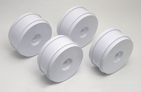 Team Associated RC8 Wheels - White (4)