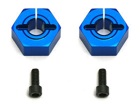 Team Associated 12 Aluminum Clamping Hex For SC10 Front (2)