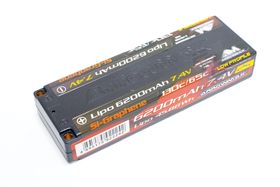 Arrowmax Lipo 6200mAh 2S TC Low Profile - 7.4V 65C Continuos 130C Burst