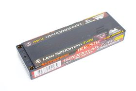Arrowmax Lipo 5200mAh 2S TC Ultra Low Profile - 7.4V 55C Continuous 110C Burst