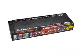 Arrowmax Lipo 5400mAh 2S TC Ultra Low Profile - 7.4V 65C Continuous 130C Burst