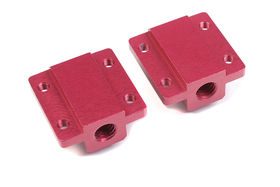 Team Corally Aluminum Pivot Ball Mounting Block A (2)