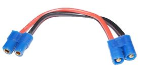 EuroRC EC3 Extension Wire 14awg 100mm (1)