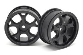 RIDE Ride 26mm 5W-Wheel Offset2 - Black (2pcs)