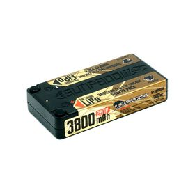 Sunpadow 7.4V 2S 3800mAh 130C/65C Shorty LiPo Battery