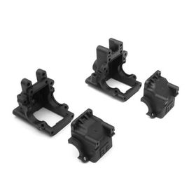 Tekno RC Bulkhead Set (f/r, revised)