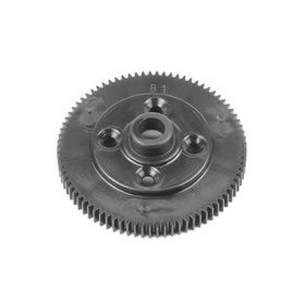 Tekno RC Spur Gear (revised material, 81t, 48pitch, black, EB410.2)