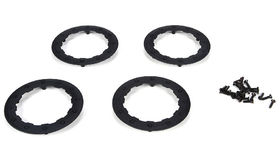 Team Losi Racing Beadlock Ring for 22SCT - Black (4)