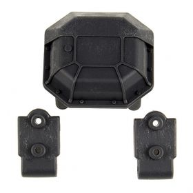Element RC Enduro Diff Cover and Lower 4-Link Mounts - Hard