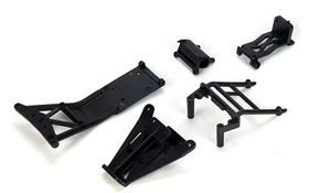 Team Losi Front/Rear Ladder & Mount Set: MSCT