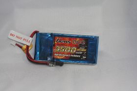 Gens ace 3500mAh 7.4V RX 2S1P Lipo Battery packs