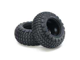 Tamiya ST Block Front Bubble Tires (Soft/2pcs.)